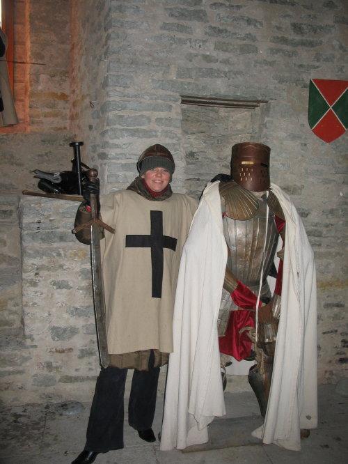 Средневековые рыцари
