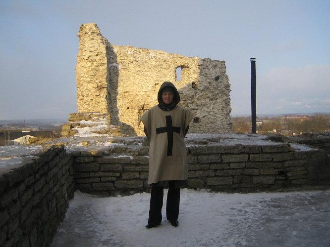 Наверху замка Раквере