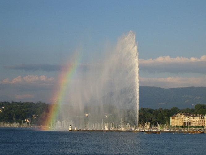 Jet dEau, Женева